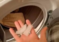 ghiacci lavatrice